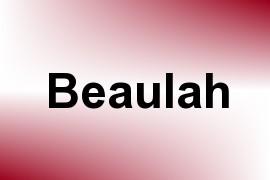Beaulah name image