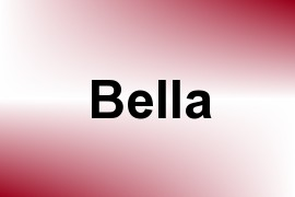 Bella name image