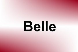 Belle name image