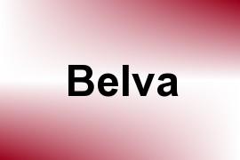 Belva name image