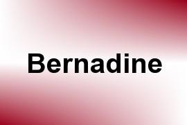 Bernadine name image