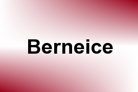 Berneice name image