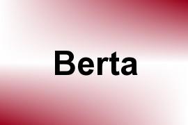 Berta name image