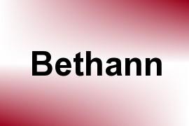 Bethann name image
