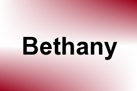Bethany name image