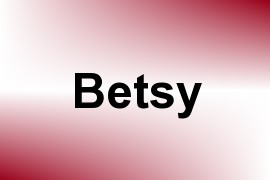 Betsy name image