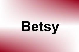 Betsy name image