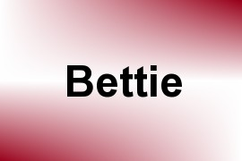 Bettie name image