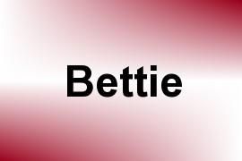Bettie name image