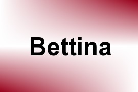 Bettina name image