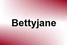 Bettyjane name image