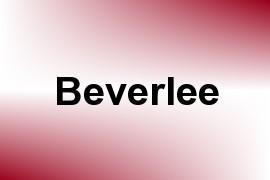 Beverlee name image