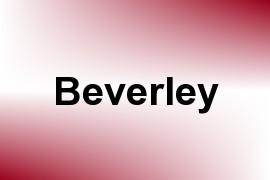 Beverley name image