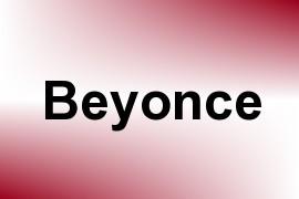 Beyonce name image