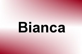Bianca name image