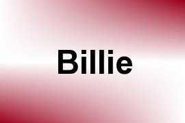 Billie name image