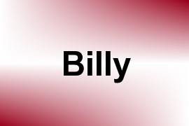 Billy name image