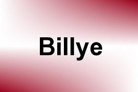 Billye name image