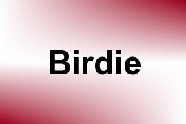 Birdie name image
