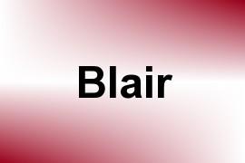 Blair name image