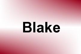 Blake name image