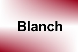 Blanch name image