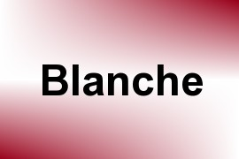 Blanche name image