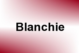 Blanchie name image