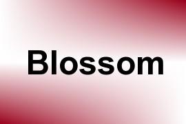 Blossom name image