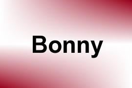 Bonny name image