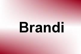 Brandi name image