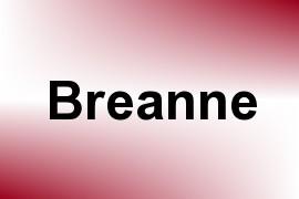 Breanne name image