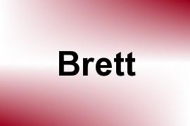 Brett name image