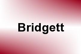 Bridgett name image