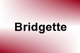 Bridgette name image