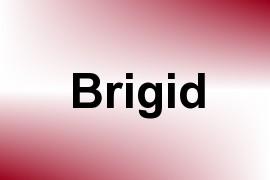Brigid name image