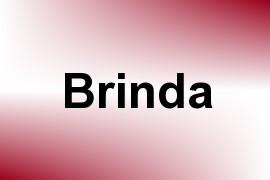 Brinda name image
