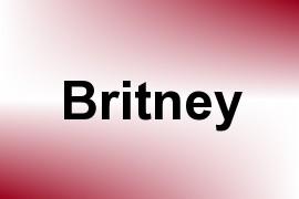 Britney name image