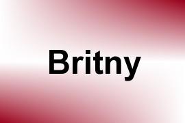 Britny name image