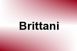 Brittani name image