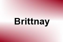 Brittnay name image