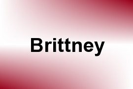 Brittney name image