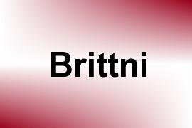 Brittni name image