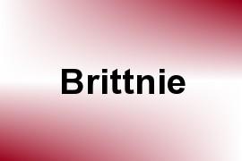Brittnie name image