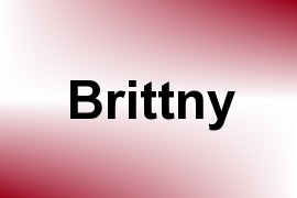 Brittny name image