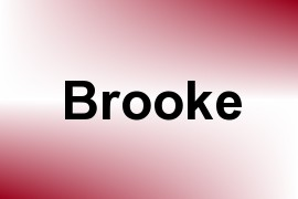 Brooke name image