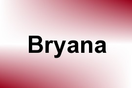 Bryana name image