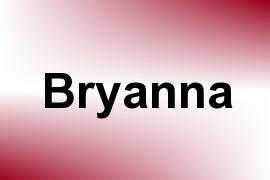 Bryanna name image