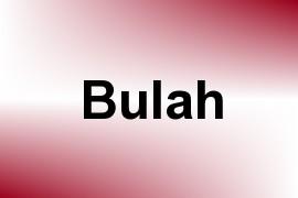 Bulah name image