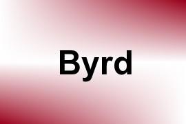 Byrd name image